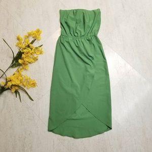 Dresses & Skirts - Green Midi Tulip Dress